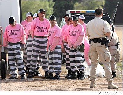 Racist Sheriff Arpaio's Prisoners