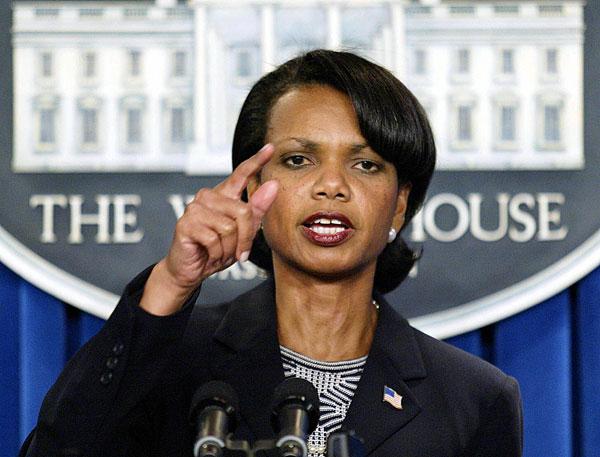 Dr Condoleezza Rice